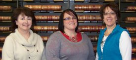 Ann Bottum; Theresa Hodges, Auditor, Tammy Suchor