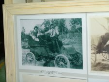 There is a large collection of Old photos and Frames at Spink County Museum